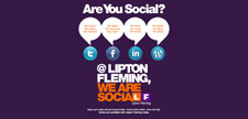 Embedded HTML email for Lipton Fleming Media Recruitment