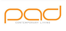 Brand identity for PAD Contemporary Living